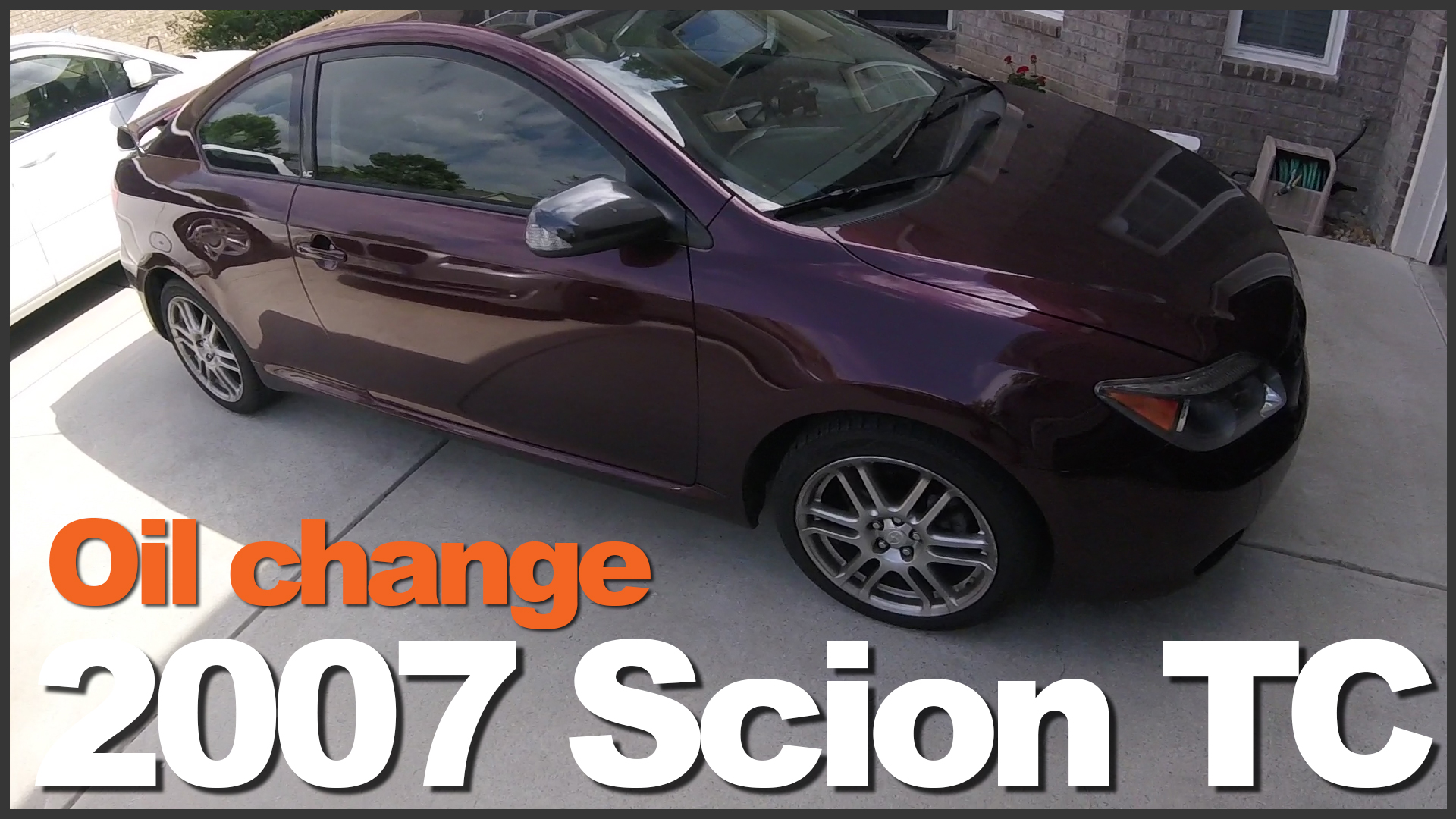 how to change oil 2007 scion tc 1geemae